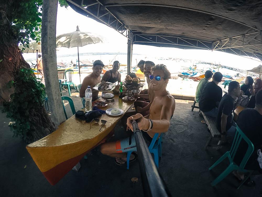 Bali Port pecheur sanur