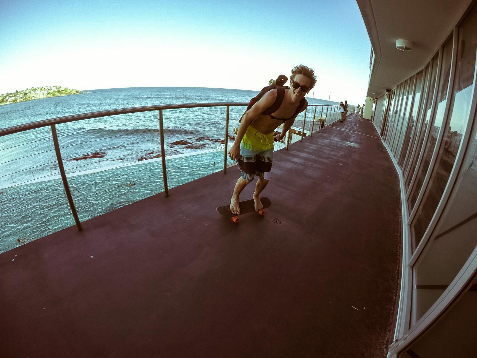 Bondie beach skate