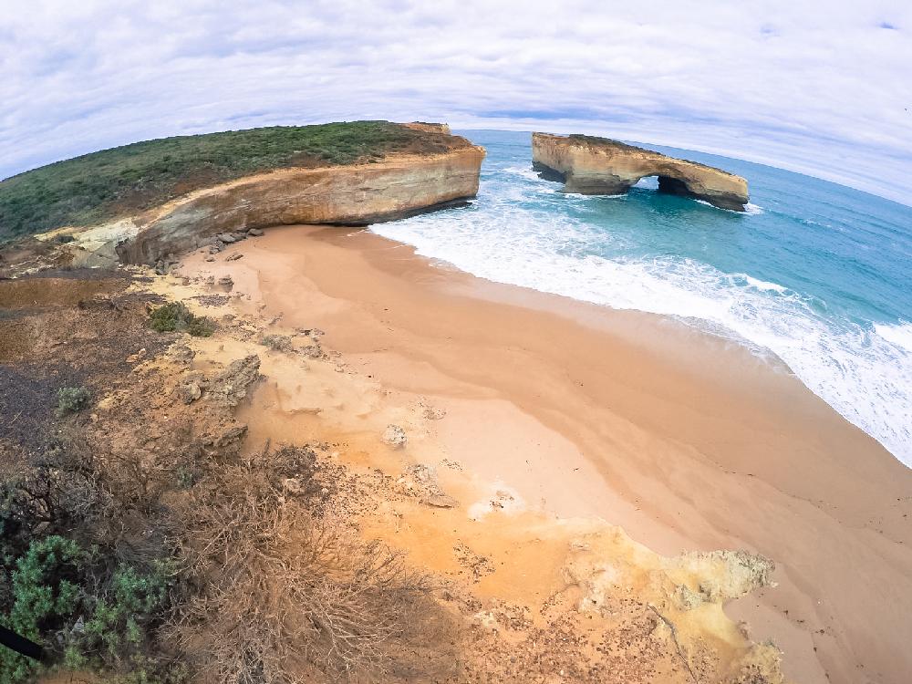 Great ocean road plage