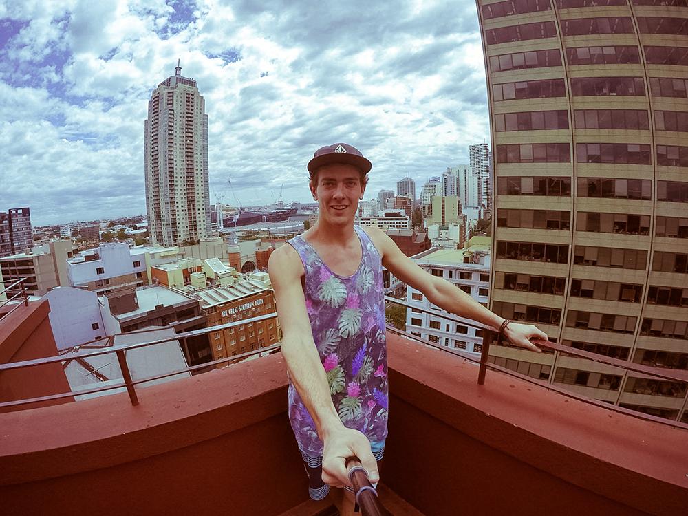 Vue YHA Sydney
