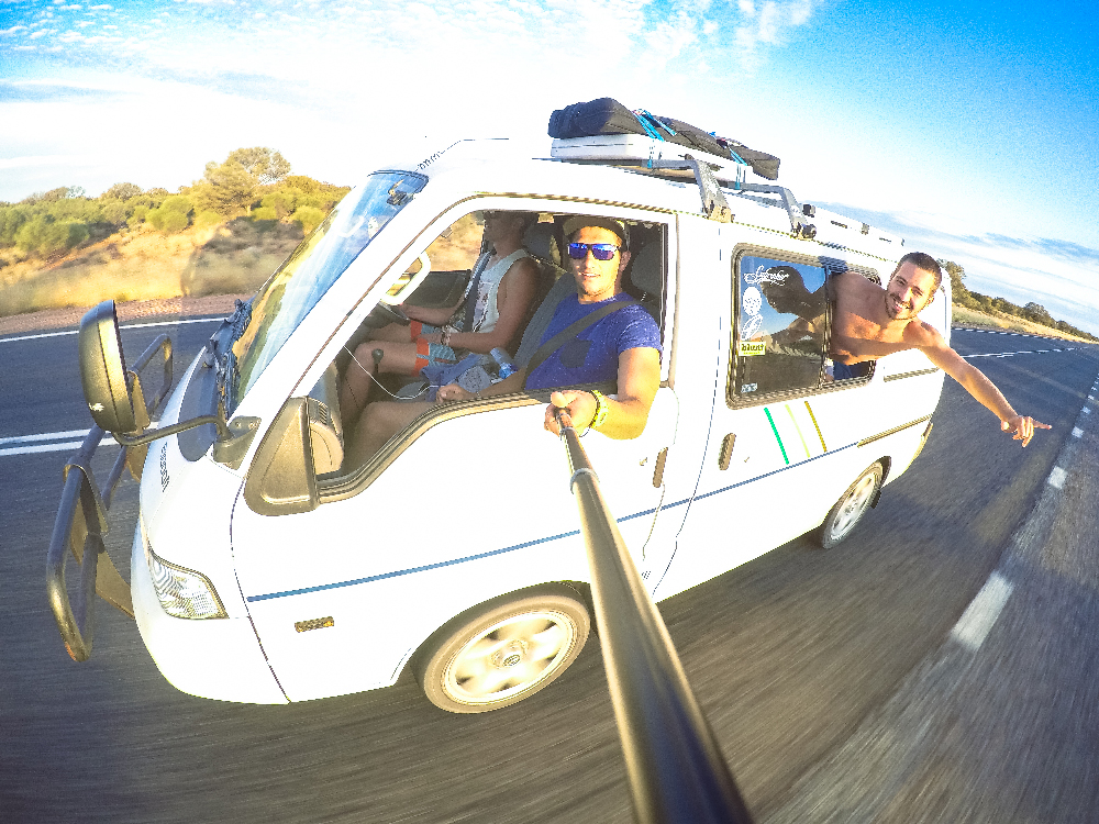 Sur la route d'Alice Springs
