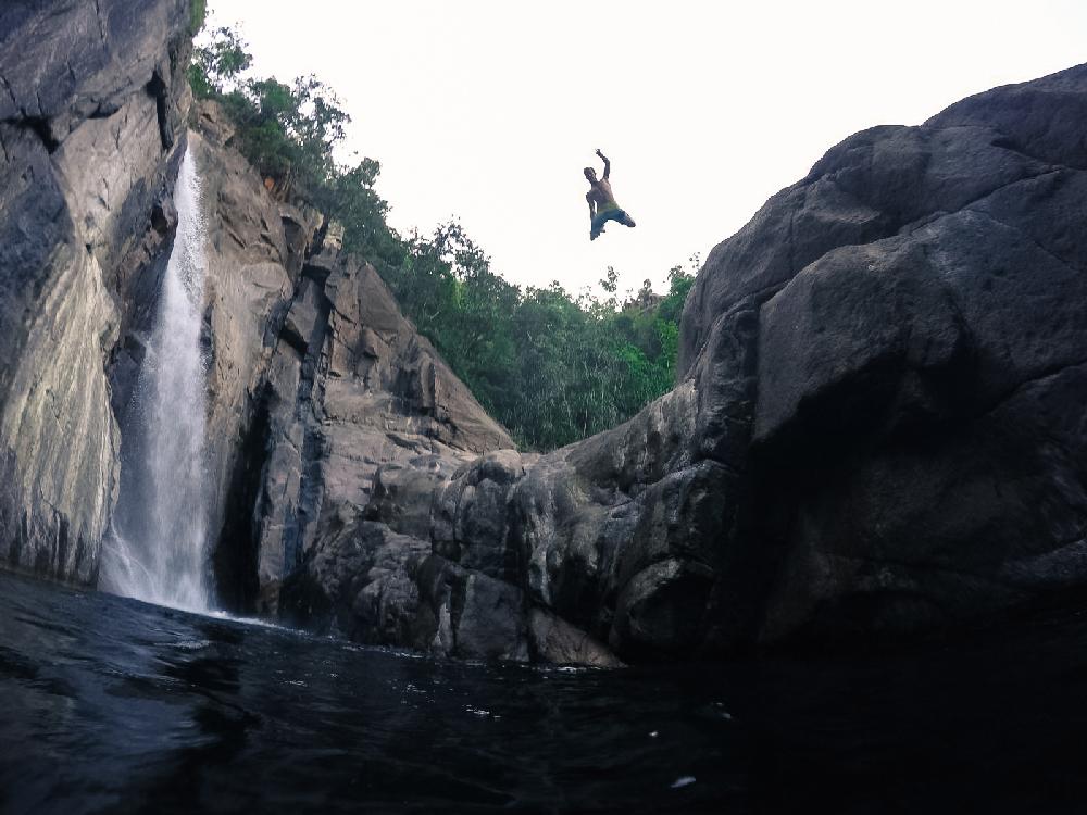 Jourama Falls Jump